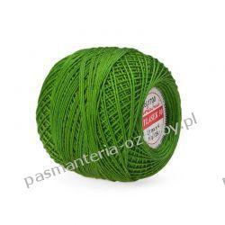 KORDONEK nici Atłasek 30 kol. 1700 (zielony) Szklane zwykłe