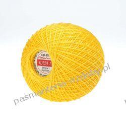 KORDONEK nici KAJA 15 ARIADNA 50x3 30g/200m - żółty (305) Pozostałe