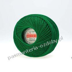 KORDONEK nici Muza 10 kol. 1404 (zielony) Rękodzieło