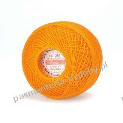KORDONEK nici ARIA 5 120x2 425m 100g - pomarańczowy -col.361 Rękodzieło