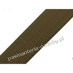 TAŚMA PARCIANA, NOŚNA 40mm (do toreb itp) 1m - khaki Druty, szydełka i czółenka
