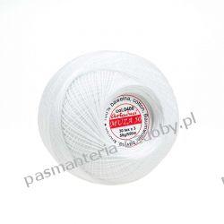 KORDONEK nici Muza 50 - kol. 0400 (biały) Akrylowe