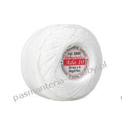 KORDONEK nici Ada 10 - kol. 0400 (biały) Nici