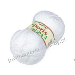 Włóczka Doris - 100g - biała