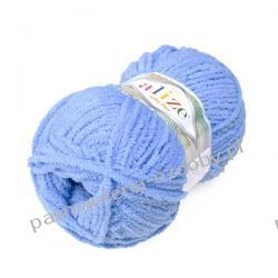 Włóczka Alize Softy Plus - 100g - niebieski (112) Szablony i maski