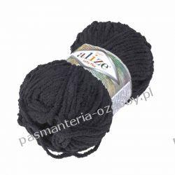 Włóczka Alize Softy Plus - 100g - czarny (60) Szycie i dziewiarstwo