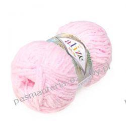 Włóczka Alize Softy Plus - 100g - jasny różowy (31) Rękodzieło