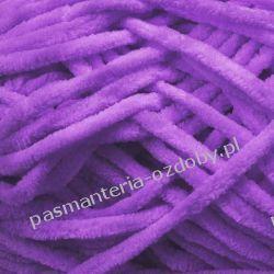 Włóczka Aksamitek - 50g - jasny fioletowy (75) Szycie i dziewiarstwo