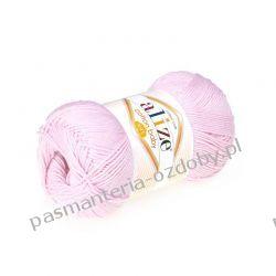 Włóczka Alize Cotton Baby Soft - 100g - pudrowy róż (184)