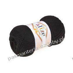 Włóczka Alize Cotton Baby Soft - 100g - czarny (60)