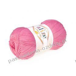 Włóczka Alize Cotton Baby Soft - 100g - ciemny różowy (181) Włóczki