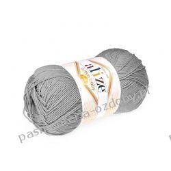 Włóczka Alize Cotton Baby Soft - 100g - popielaty (21) Włóczki