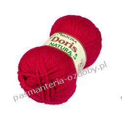 Włóczka Doris - 100g - czerwony (62) Włóczki