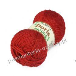 Włóczka Doris - 100g - ciemny czerwony (207) Włóczki
