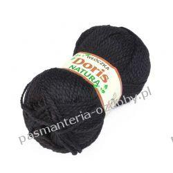 Włóczka Doris - 100g - czarny (30) Włóczki