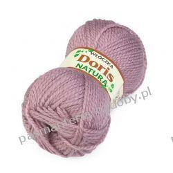 Włóczka Doris - 100g - brudny róż (246) Włóczki