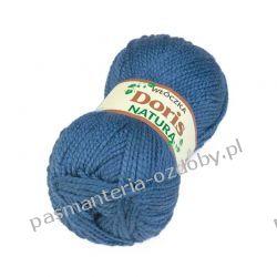 Włóczka Doris - 100g - jeans (233) Zamki i zapięcia