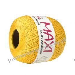 KORDONEK nici MAXI Nr 10/3 100 g x 565 m - żółty (347) Igły, szpilki i agrafki