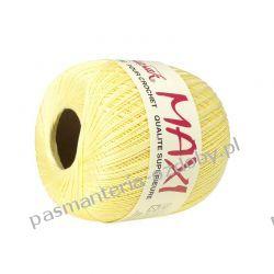 KORDONEK nici MAXI Nr 10/3 100 g x 565 m - jasny żółty (303) Nici