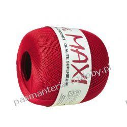 KORDONEK nici MAXI Nr 10/3 100 g x 565 m - czerwony (328) Nici
