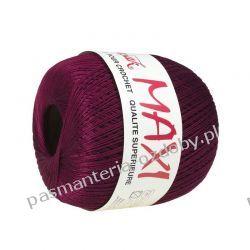 KORDONEK nici MAXI Nr 10/3 100 g x 565 m - bordowy (9537) Akcesoria i gadżety