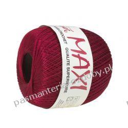 KORDONEK nici MAXI Nr 10/3 100 g x 565 m - burgund (9522) Guziki