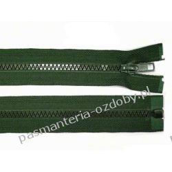Zamek błyskawiczny kostkowy 5mm dł. 45cm - ciemny zielony