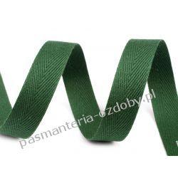 Taśma odzieżowa jodełka - 10mm - zielona Pozostałe