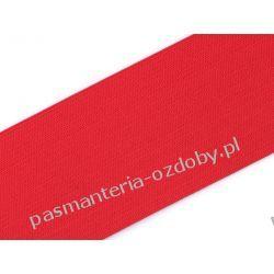Guma gładka, szer. 55mm - 1m - czerwona Akrylowe