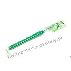 Szydełka metalowe / szydełko z rączką TPR / 4,0 mm - 16cm Nici