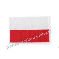 Naprasowanka -naszywka flaga  - Polska Aplikacje