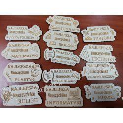 MAGNES NA LODÓWKĘ dla nauczycieli różnych przedmiotów Decoupage