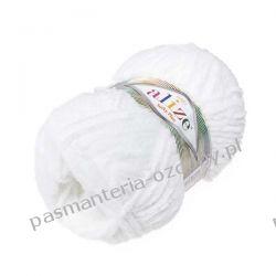 Włóczka Alize Softy Plus - 100g - biały (55) Akrylowe