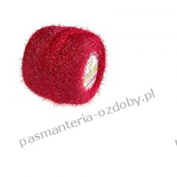 KORDONEK nici - Yabali - czerwony (6018) Dodatki i ozdoby