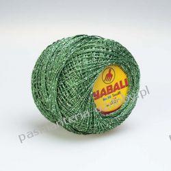 KORDONEK nici - Yabali - zielono-srebrny Dodatki i ozdoby