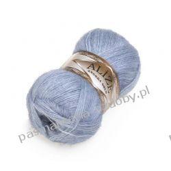 Włóczka Alize Angora Gold - 100g - jasny jeans (221) Rękodzieło