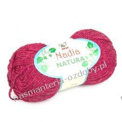 Włóczka Nadia - 100g - czerwony (kol. 316) Włóczki