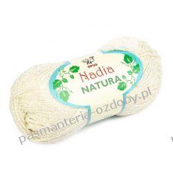 Włóczka Nadia - 100g - kremowy (kol. 308) Włóczki