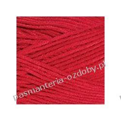 Włóczka YarnArt Jeans Plus - 100g - czerwony (kol. 64) Nici