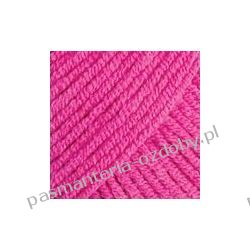 Włóczka YarnArt Jeans - 50g - ciemny różowy (kol. 59) Włóczki