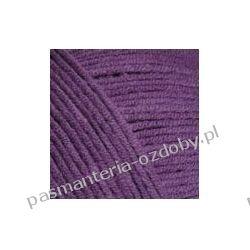 Włóczka YarnArt Jeans - 50g -fioletowy (kol. 50) Szklane zwykłe