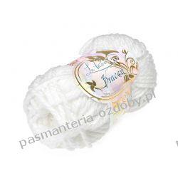 Włóczka La Passion - Bracen - 100g - biały (kol. 1000) Rękodzieło
