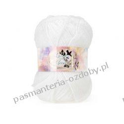 Włóczka La Passion Clover - 50g - biały (01) Rękodzieło