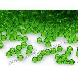 Koraliki szklane - PRECIOSA - rozmiar 8/0 -20g- zielony Szklane zwykłe