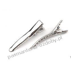 Spinki do włosów 35 mm - kolor srebrny Przebrania, kostiumy, maski