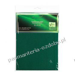 Kanwa (54 oczka /10 cm) 14ct - zielona - 34x45cm Akcesoria hafciarskie