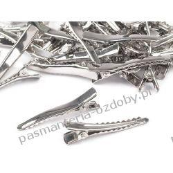 Spinki do włosów 45mm - kolor srebrny Przebrania, kostiumy, maski