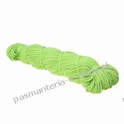 Sznurek pleciony 5 mm - 100m - zielony Rękodzieło