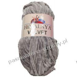 Włóczka Himalaya Velvet - szary (90057) Rękodzieło