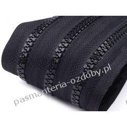 Taśma suwakowa kostkowa 5mm - czarna Rękodzieło